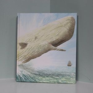 Moby Dick by Herman Melville Hardcover Illustrated